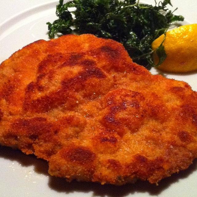 Wiener Schnitzel vom Ägidihof in Igls