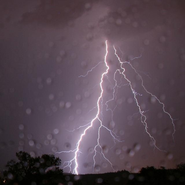Gewitter Blitz am Lanser Köpfl