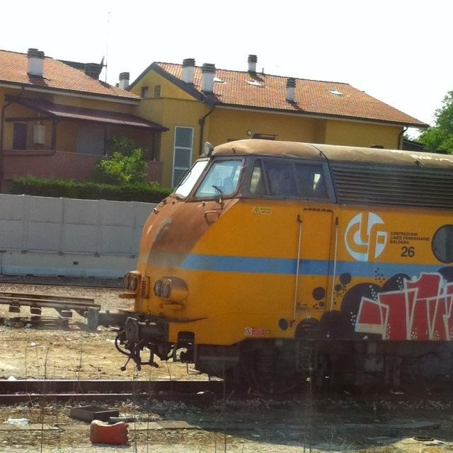 Italienische Lokomotive