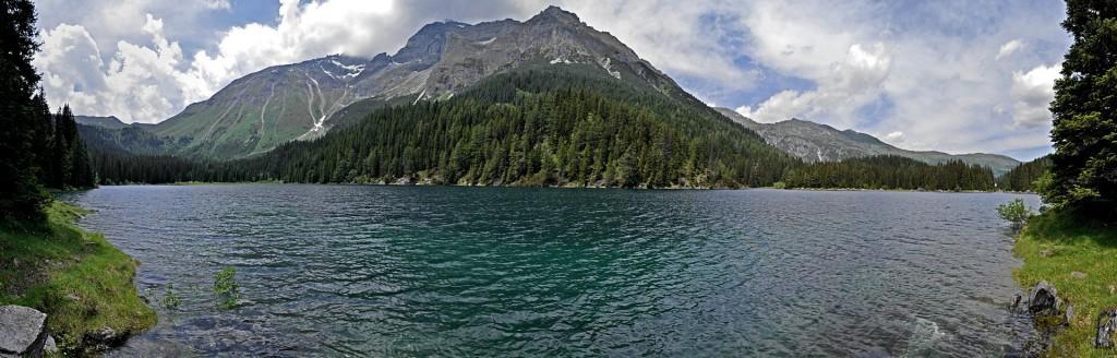 Obernberger See im Sommer